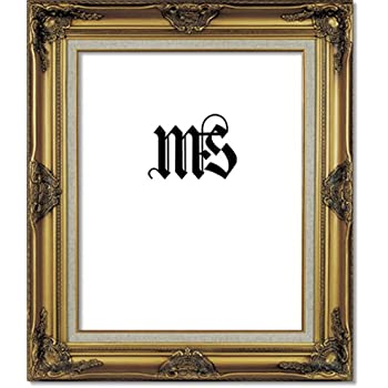 Amazon.com - West Frames Estelle Antique Gold Black Velveteen Liner ...