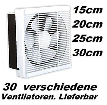 Gebläse Wand Lüfter Fenster Ventilator 250mm Fensterventilator  Wandventilator Axial Gebläse Wandgebläse Badlüfter Bad Küche Wand  Ventilatoren