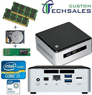 Intel NUC NUC5I7RYH Mini PC i7-5557U, 120GB Samsung SSD, 1TB HDD + 4GB RAM, Assembled and Tested