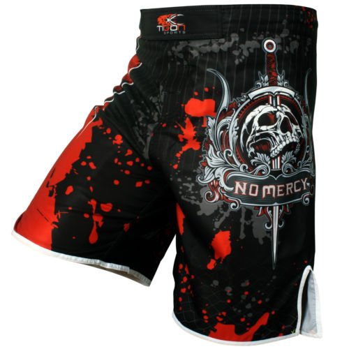 Pro Gel Fight Shorts UFC MMA Grappling Short Kick Boxing Muay Thai Cage Pants (Cage Pants)