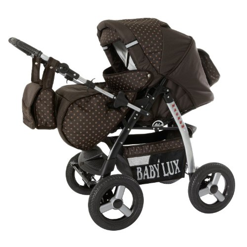 lux4kids Magnum 2 in 1 Pram Combi Stroller & Pushchair (r...