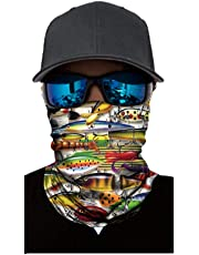 Sports Seamless Cycling Bike Bicycle Riding Veil Multi Face Scarf Face Masks Bandana Windproof Warm Scarves Koalcom