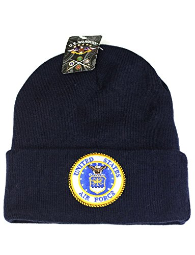 US Military Beanie Hat Official Licensed Headwear (United States Air Force (Air Force Logo Cap)