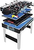 Hy-pro 3ft 4 in 1 Multi Games Table Football Tennis Pool Hockey Kids Gaming Toy