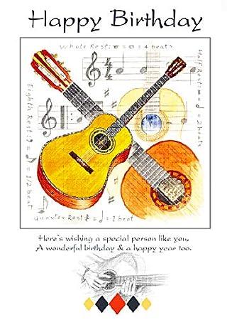Happy Birthday Card 7x5 Single
