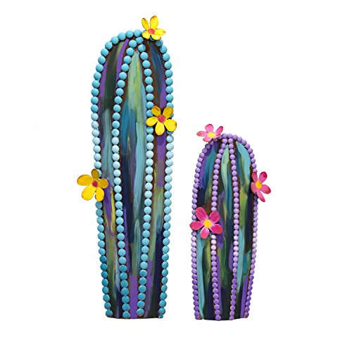 (The Round Top Collection Fairytale Cactus Straight, Set of 2/Metal )