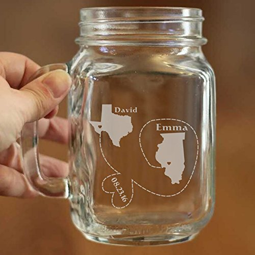 Long Distance Relationship Gift for Couples, Friends Gift...