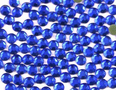 New ThreadNanny 1440 Hot Fix Rhinestone Crystals - 3mm/10ss, Dark Blue ()