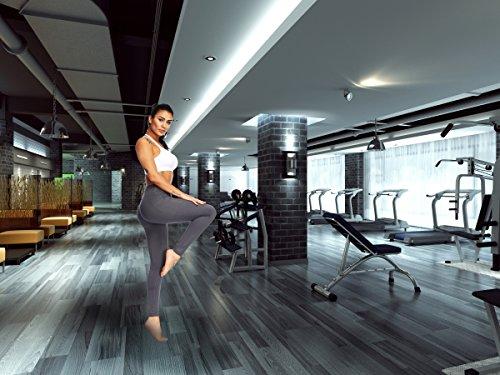 Fengbay High Waist Yoga Pants, Pocket Yoga Pants Tummy Control Workout Running 4 Way Stretch Yoga Leggings by Fengbay (Image #6)