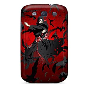 Special EOVEe Skin Case Cover For Galaxy S3, Popular Itachi Uchiha Phone Case