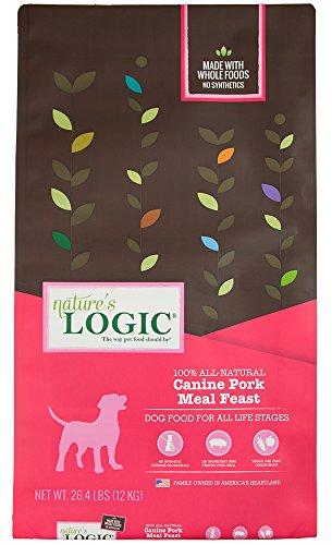 Natures Logic Natural - Nature'S Logic Canine Pork Meal Feast, 26.4Lb