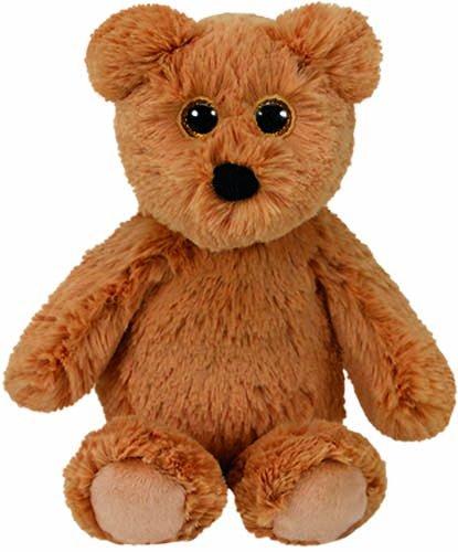 TY Attic Treasures - HUMPHREY the Brown Bear (Regular Size - 8 inch) (Treasure Bear)