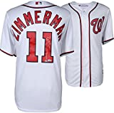 Ryan Zimmerman Washington Nationals Autographed Majestic White Replica Jersey - Fanatics Authentic Certified