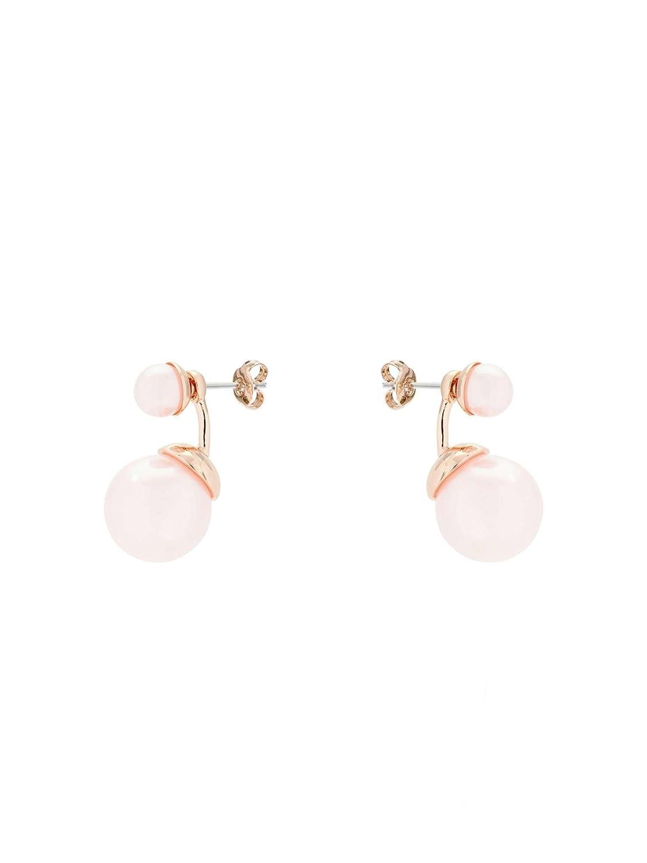 4507da4ac Ted Baker Deede Double Drop Pearl Earring (T12952428): Amazon.co.uk:  Jewellery