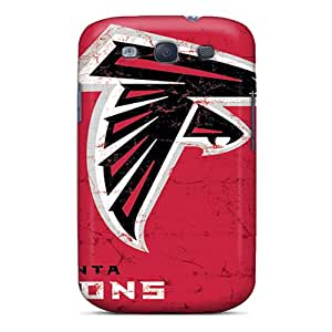 InesWeldon Samsung Galaxy S3 Scratch Resistant Hard Phone Case Provide Private Custom Realistic Atlanta Falcons Image [Wbm5172PPhz]