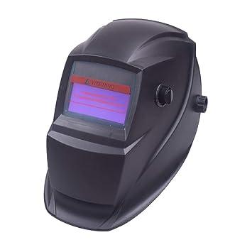LAIABOR Casco de Soldadura Automática Careta Soldar Electronica de Oscurecimiento Máscara del Automóvil Rango de Sombra Ajustable 4/9-13 para ARC TIG Mig ...