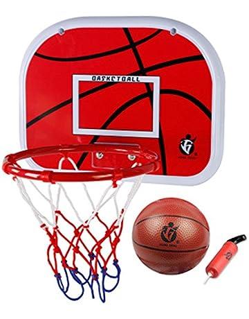 SUON Mural Panier De Basket Jouet Dentra/înement Sportif Enfant Panier De Basket Ext/érieur des Gamins Les Adolescents Panier De Basketball 79x56cm
