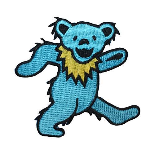 Application Dancing Bear Blue Patch