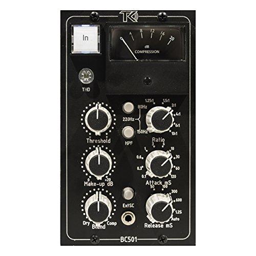 - TK Audio BC501 Blend Control 500-Series Stereo Compressor Module