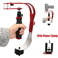 Yaekoo Handheld video camera stabilizer Steadicam for GoPro, Smartphone, DSLR, Camcorder, Canon, Nikon or any camera up to 2.1 lbs.