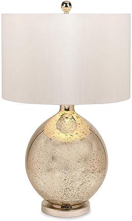 Urban Designs Champagne Tara 31 Inch Mercury Glass Table Lamp Home Kitchen Amazon Com