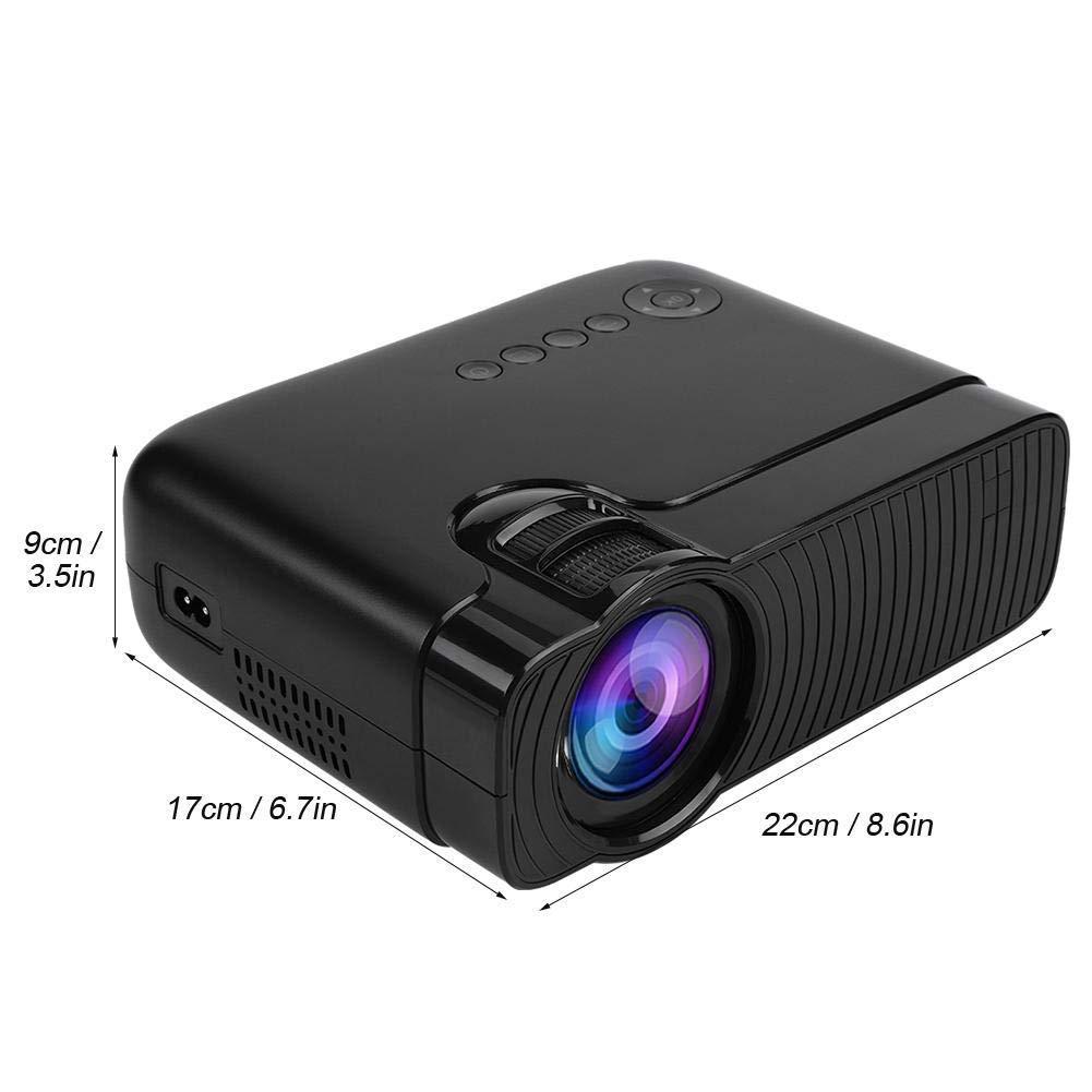 Mini proyector portátil 1080P 1000 proyector de vídeo en Contraste ...