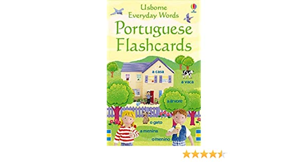 Everyday Words Portuguese Flashcards: Kirsteen Rogers: 9781409505846: Amazon.com: Books