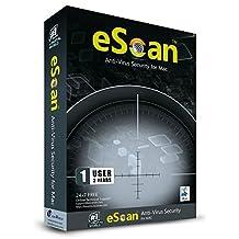 eScan Anti Virus for Mac 1 User 2 Years
