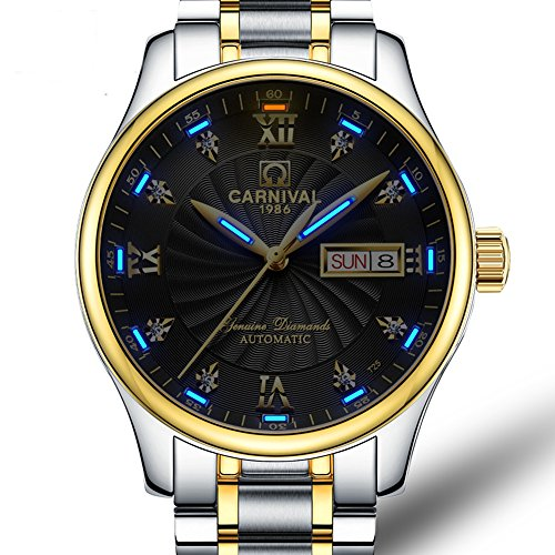Men's Wrist Watches Automatic Mechanical Luminous Tritium Military - City In Mall Century
