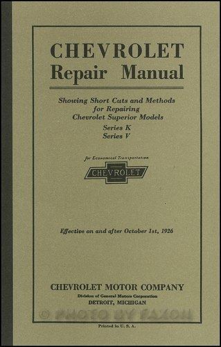 1925 1926 chevrolet repair shop manual reprint chevrolet amazon 1925 1926 chevrolet repair shop manual reprint chevrolet amazon books fandeluxe Choice Image
