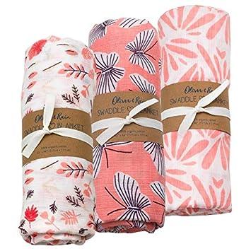 dise/ño floral anais Essential Saco de dormir Aden 100/% muselina, algod/ón