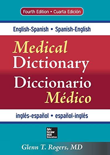 English-Spanish/Spanish-English Medical Dictionary, Fourth Edition (Dictionary Books Medical)