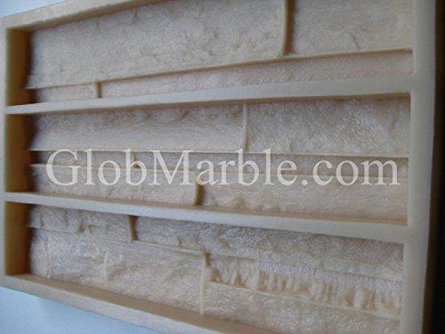Veneer Stone Mold. Concrete Mold. VS 101/4 by GlobMarble