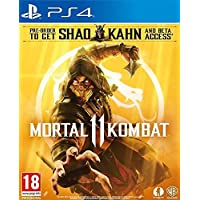 Mortal Kombat 11 (AT-Pegi) uncut Edition PS4 + [Shao Kahn DLC & BETA Code]