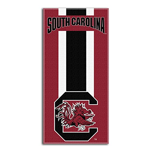 (Northwest NCAA South Carolina Fighting Gamecocks  Beach Towel,  30 x 60-inch)