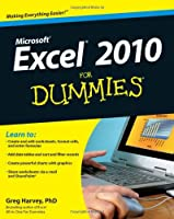 Excel 2010 For Dummies Front Cover