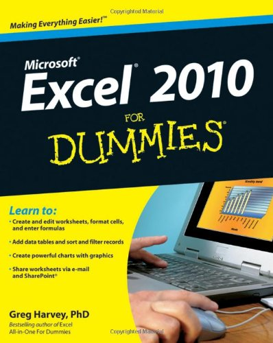 [PDF] Excel 2010 For Dummies Free Download | Publisher : For Dummies | Category : Computers & Internet | ISBN 10 : 0470489537 | ISBN 13 : 9780470489536