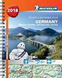 Germany, Benelux, Austria, Switzerland, Czech Republic 2018 - Tourist and Motoring Atlas (A4-Spiral) 2018 (Michelin Road Atlases)
