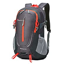 Mardingtop 25L Water-resistant Hiking Daypack/Camping Backpck/Travel Daypack/Casual Backpack with Rain Cover for Outdoor Climbing School-5964
