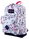 JanSport City Scout Laptop Backpack (Multi White Floral Haze)