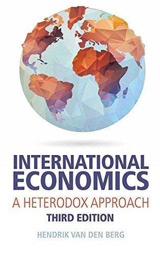 International Economics: A Heterodox Approach