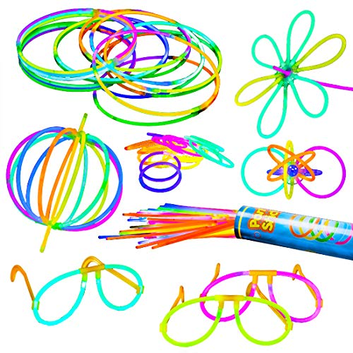 Glow Sticks Party Favors for Kids - 100