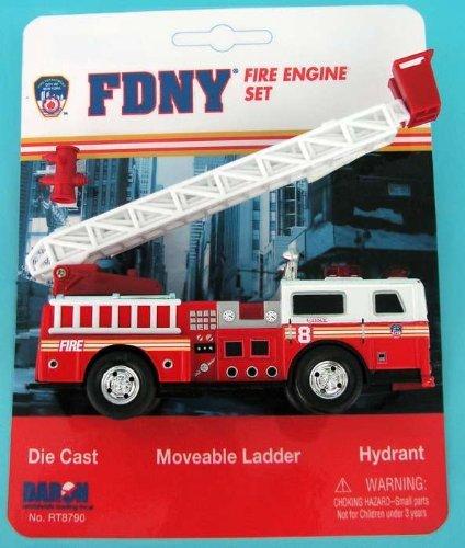 ニューヨーク市消防局 はしご車 プレイセットの商品画像