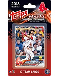 Boston Red Sox 2018 Topps Factory Sealed Limited Edition 17 Card Team Set with Dustin Pedroia Xander Bogaerts Andrew Benintendi Rafael Devers Rookie plus