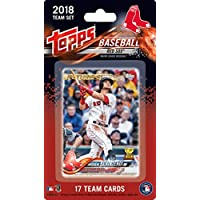 fan products of Boston Red Sox 2018 Topps Factory Sealed Limited Edition 17 Card Team Set with Dustin Pedroia Xander Bogaerts Andrew Benintendi Rafael Devers Rookie plus
