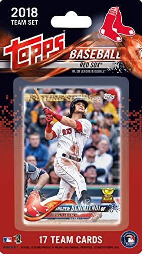 Boston Red Sox 2018 Topps Factory Sealed Limited Edition 17 Card Team Set with Dustin Pedroia Xander Bogaerts Andrew Benintendi Rafael Devers Rookie ()