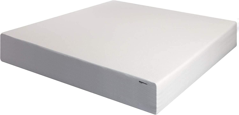 AmazonBasics 12-Inch Memory Foam Mattress - Soft Plush Feel, California King