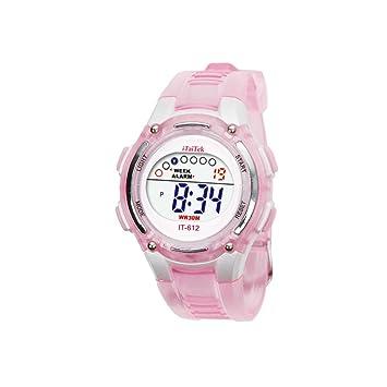 Reloj para NiñOs,Feixiang ♈NiñOs NiñOs NiñAs NatacióN Deportes Digital Impermeable Reloj De Pulsera Los NiñOs De Los Relojes Digitales,Resistente Al Agua: ...