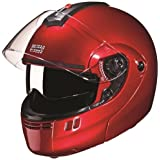 Studds Ninja 3G SUS_N3GDVFFH_REDXL Full Face Helmet with Double Visor(Cherry Red, XL)