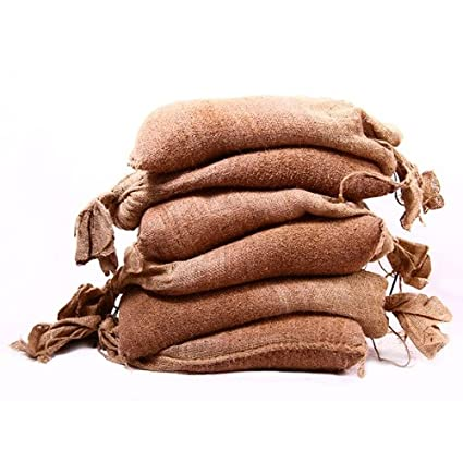 8fb64c6dc7e Set Of 6 Filled Hessian Sandbags - FREE Delivery On All Filled Sand Bags   Amazon.co.uk  DIY   Tools